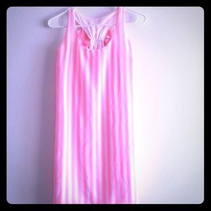 Dresses & Skirts - Pink and white striped dress
